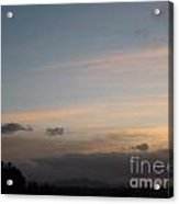 Serene Sunrise Acrylic Print