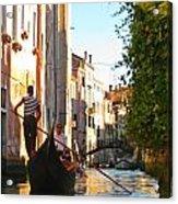 Serene Venice Scene Acrylic Print