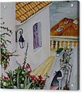 Serene Villa Acrylic Print