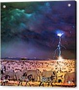 Serengeti Storm Acrylic Print