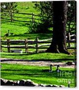 Serenity At Tashmoo Farm Acrylic Print