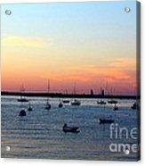 Serenity At The Bay Acrylic Print