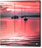 Serenity Bay Dreams Acrylic Print