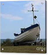 Serenity Boat Acrylic Print