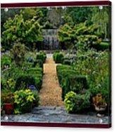 Serenity Garden. Acrylic Print