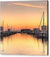 Serenity Harbor 1 Acrylic Print