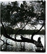 Serenity On The River Acrylic Print