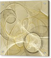Series Abstract Art In Earth Tones 4 Acrylic Print