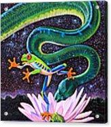 Serpent In The Garden Acrylic Print