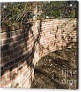 Serpentine Wall University Of Virginia Acrylic Print