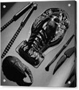 Serveware For Lobster Acrylic Print