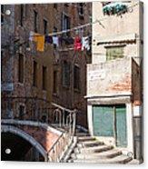 Sestier San Polo - Venice Acrylic Print