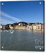 Sestri Levante With Blue Sky Acrylic Print