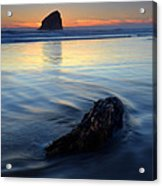Set In Sand Acrylic Print