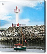 Setting Out Howth Ireland Acrylic Print by Jo Collins