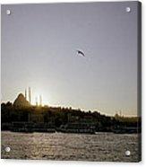 Setting Sun Over Istanbul Acrylic Print