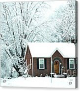 Settled In For The Winter Acrylic Print