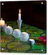 Seven Candles Acrylic Print