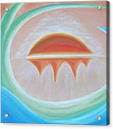 Seven Days Of Creation - The Seventh Day Acrylic Print