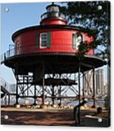 Seven Foot Knoll Lighthouse - Baltimore Harbor Acrylic Print