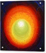 Seven Inside Seven Outside - The Shining Egg Tertiary Inside  Acrylic Print