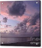 Seven Mile Beach Sunset Acrylic Print