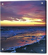Seven Minutes On The Beach Acrylic Print