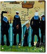 Seven Sailors Acrylic Print