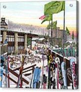 Seven Springs Mountain Resort Acrylic Print