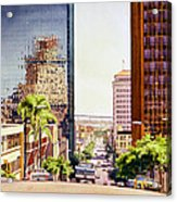Seventh Avenue In San Diego Acrylic Print