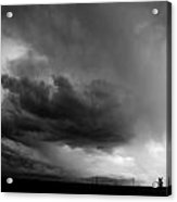 Severe Storm Cells Developing Over South Central Nebraska Acrylic Print