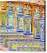 Seville And Plaza De Espana Acrylic Print