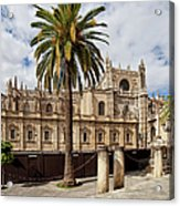 Seville Cathedral In Spain Acrylic Print