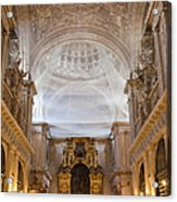 Seville Cathedral Interior Acrylic Print