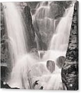 Seward Falls Acrylic Print by Chris Heitstuman