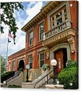 Sewickley Municipal Hall Acrylic Print
