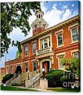 Sewickley Pennsylvania Municipal Hall Acrylic Print
