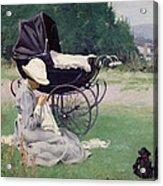 Sewing In The Sun, 1913 Acrylic Print