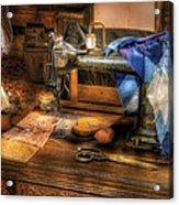 Sewing Machine  - Sewing Machine IIi Acrylic Print