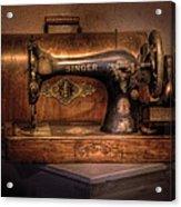 Sewing Machine  - Singer  Acrylic Print