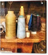 Sewing - Tailor's Thread Acrylic Print