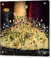Sewing - The Pin Cushion Acrylic Print