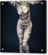 Sexy Mummy Girl Acrylic Print