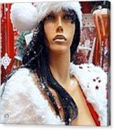 Sexy Santa Acrylic Print