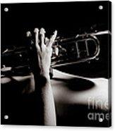 Sexy Trumpet Acrylic Print