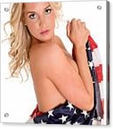 Sexy Usa Acrylic Print by Jt PhotoDesign