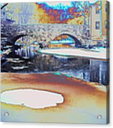 Sgt Peppers Lonely Hearts Club Bridge Acrylic Print