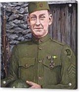 Sgt Sam Avery Acrylic Print