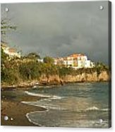 Sgu Library Storm Clouds Acrylic Print