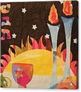 Shabbot Acrylic Print by Diane Miller
